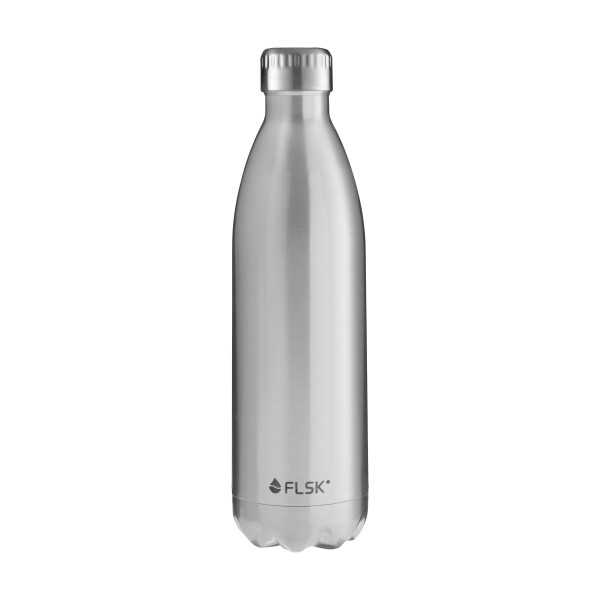 FLSK Trink- / Isolierflasche 1000ml Stainless 18h warm oder 24h kalt