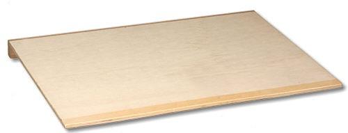 Backbrett Multiplex 1 Anschlagleiste 60 x 40 cm
