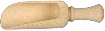 Schaufel gedreht Glockengriff ca. 14,5 cm