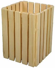 Küchenkorb hoch für Löffel 11,5 x 11,5 x 15 cm
