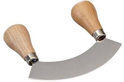 Wiegemesser inox mit 1 Klinge ca. 13,5 cm
