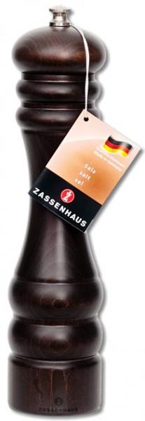"""Zassenhaus Salzmühle """"Berlin"""" Buche dunkel gebeizt 24 cm"""
