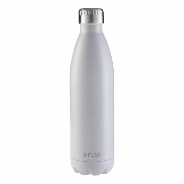 FLSK Trink- / Isolierflasche 750ml White 18h warm oder 24h kalt