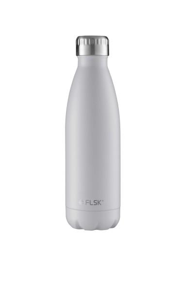 FLSK Trink- / Isolierflasche 500ml White 18h warm oder 24h kalt