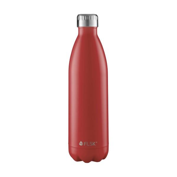 FLSK Trink- / Isolierflasche 1000ml Bordeaux 18h warm oder 24h kalt