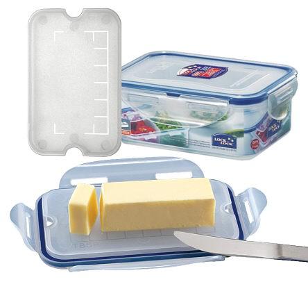 Lock & Lock HPL814T Dose für 250g Butter rechteckig 460 ml