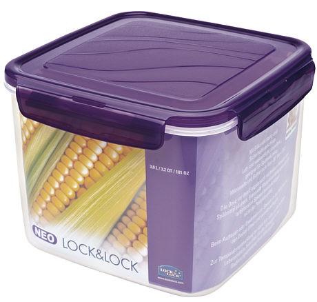 Lock & Lock ZZF220V NEO Quadratisch violett 3l