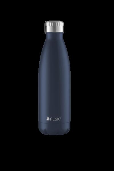 FLSK Trink- / Isolierflasche 500ml Midnight 18h warm oder 24h kalt