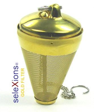 seleXions Tee-Ei Gold, mit Kette