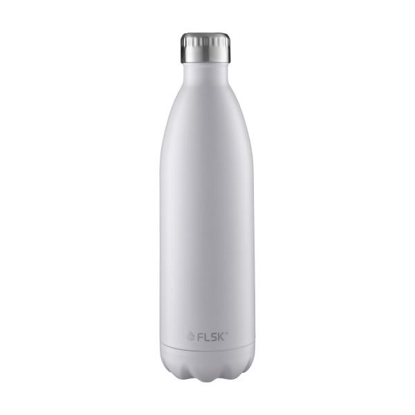 FLSK Trink- / Isolierflasche 1000ml White 18h warm oder 24h kalt
