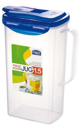 Lock & Lock HPL733 Saftkrug, passend für die Kühlschranktür 1,5 l